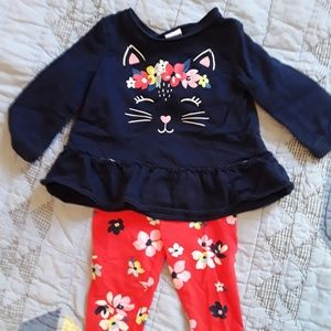 🌹BUNDLE 3 SAVE 30% Baby Floral Cat Outfit